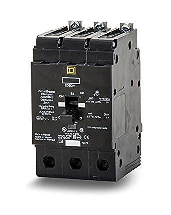 EGB34100 Lighting Circuit Breaker 35K Rated, Square D: Magnetic ...