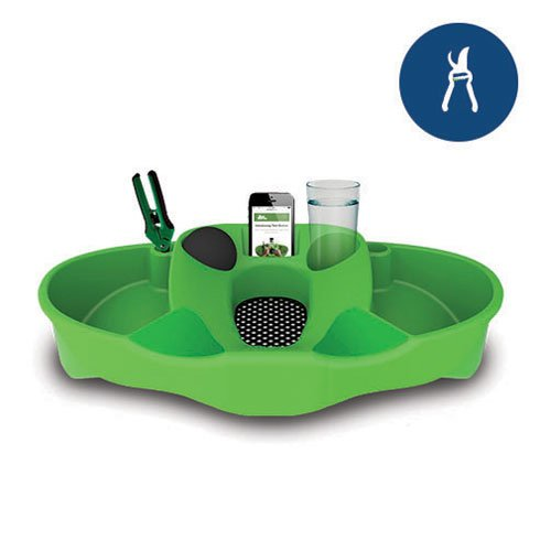 4 Pack - TrimStation Package Green Trim Bin Tray for Harvesting with Accessories by Gro1