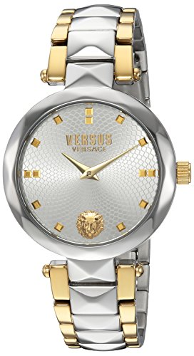 Versus by Versace Women's 'Covent Garden' Quartz Stainless Steel Casual Watch, Color:Two Tone (Model: SCD100016)