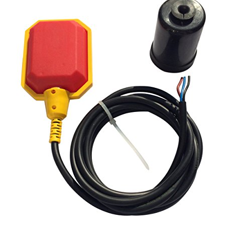 Pump Float Switch - Float Switch w / 10 ft Cable, Septic System, Sump Pump, Water Tank
