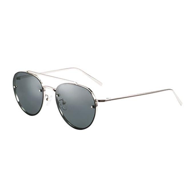 Gafas de sol polarizadas para mujer Gafas de sol redondas Espejos Gafas de conducción Polarizadores retros
