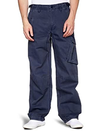 Nike Cargo Combat Mens Trousers Pants-Navy-S