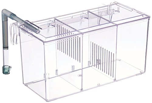 Finnex External Refugium Breeder Hang-On Box, Water Pump Betta Fish Box