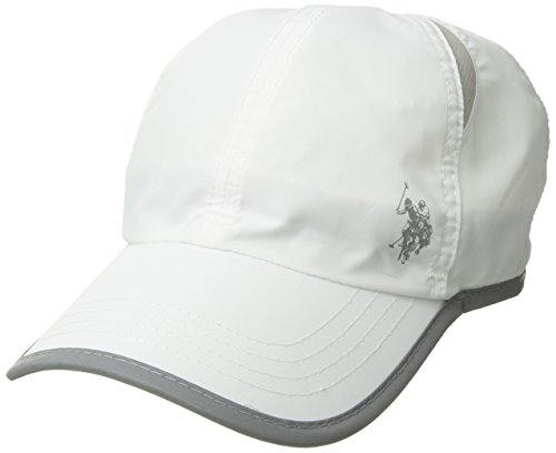 - U.S. Polo Assn. Active Men's Poly-Nylon Mesh Baseball Cap, Moisture Wicking, White, one Size