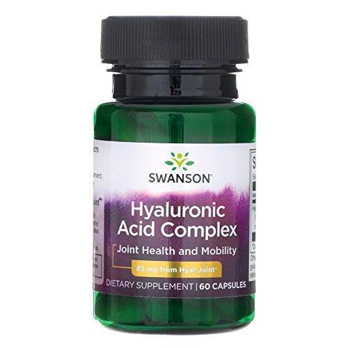 Joint Ultra Complex (Swanson High Potency Hyal-Joint Hyaluronic Acid Complex 83 Milligrams 60 Capsules)