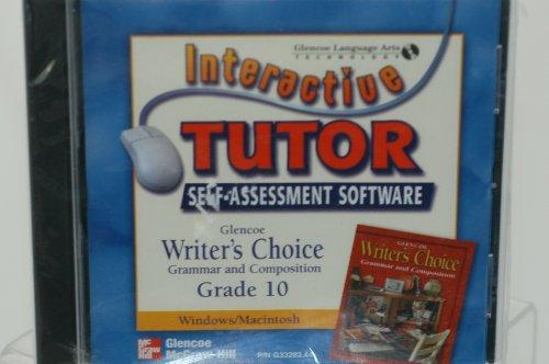 Glencoe Writer's Choice Grade 10 Interactive Tutor Self-Assessment Software