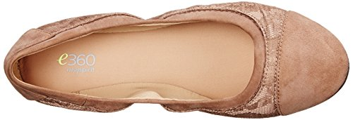 Women's Fabric Taupe Multi Gessica Spirit Flat Ballet Easy Dark FwvPqxC