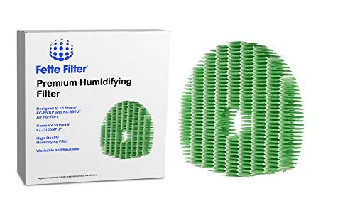 Price comparison product image Fette Filter - KC-850U and KC-860U Humidifier Filter Compatible with Sharp
