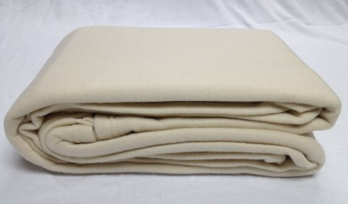 Polar Fleece Massage Table Blanket, Color = (Natural)