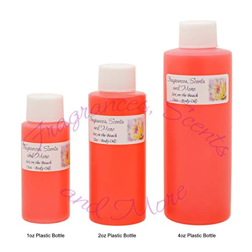 Sex on The Beach Perfume/Body Oil (7 Sizes) - Free Shipping (3 Bottles 1/3oz Roll On (10ml)) ()