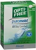 Opti-Free Puremoist Multi-Purpose Disinfecting Solution - 2 oz, Pack of 3