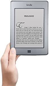 """Kindle Touch 3G, Free 3G + Wi-Fi, 6"""" E Ink Display - includes Special Offers & Sponsored Screensavers"""