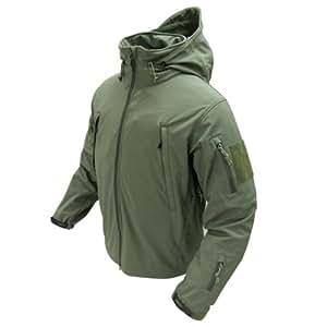 Condor Outdoor COP-602-001-L Summit Softshell Jacket, OD Green - Large