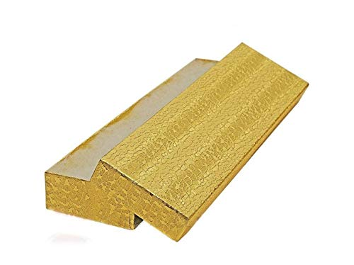 (JTS-Cotton Filled Jewelry Gift Box (Gold Foil) 8
