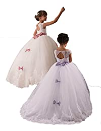 Ellenhouse Children Flower Girls Wedding Dresses Kids First Communion Gown EL024
