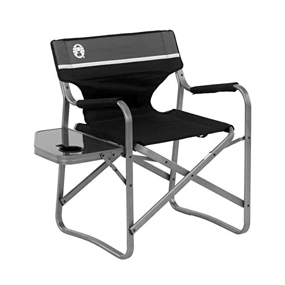 Coleman-Camp-Chair-with-Side-Table-Folding-Beach-Chair-Portable-Deck-Chair-for-Tailgating-Camping-Outdoors