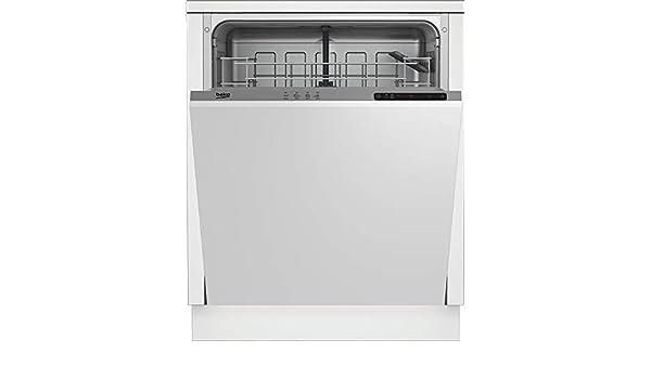 Beko DIN24C10 - Lavavajillas con compartimento total, 13 cubiertos ...