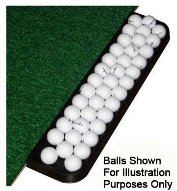 Golf Mat 4' x 5' Dura-Pro Plus Residential Golf Hitting Mat FREE Golf Ball Tray, FREE Balls, FREE Tees - FREE SHIPPING - 8 Year UV Warranty - Dura-Pro Golf Mats Make All Other Golf Mats Obsolete! Family Owned And Operated Since 1997. As Seen On The Golf C by Dura-Pro Residential Golf Mat (Image #4)