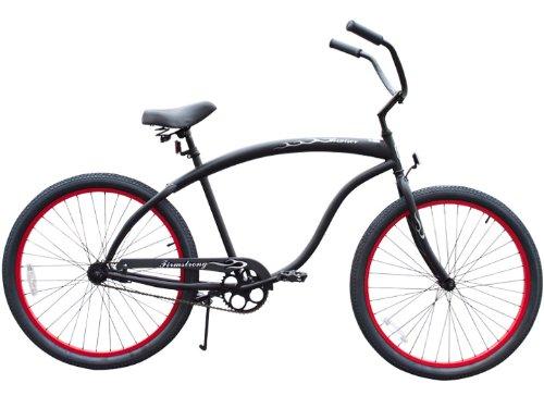 Firmstrong Bruiser Man Single Speed Beach Cruiser Bicycle, 26-Inch, Matte...