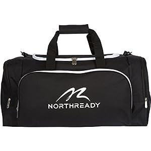 "NorthReady Sports Duffel Gym Bag for Men, Women & Kids - 24.5""W Medium Large Durable Bags"