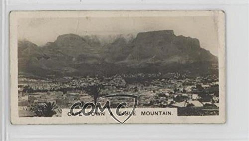 - Cape Town and Table Mountain COMC REVIEWED Good to VG-EX (Trading Card) 1931 Westminster South Africa Second Series - Tobacco [Base] #2