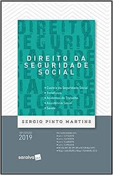 Direito da seguridade social - 38ª edição de 2019