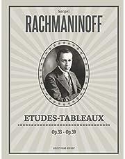 Etudes-Tableaux: (Op.33 / Op.39) - Piano (Urtext)