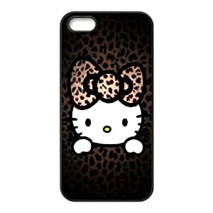 Hello Kitty iPhone 5 5s Cell Phone Case Black MS4623033