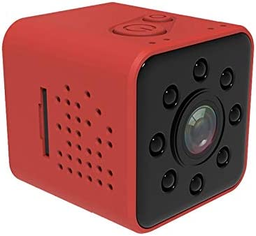 JINGZ SQ23 Ultra-Mini DV Pocket WiFi 1080P 30fps Digital Video Recorder 2.0MP Camera Camcorder with 30m Waterproof Case Support IR Night Vision Durable Color : Red