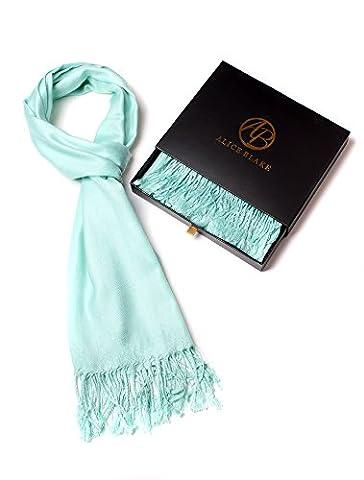 Alice Blake Premium Pashmina Scarf Shawl Wrap Soft Luxurious With Free Gift Box - Price Printed Gift Boxes