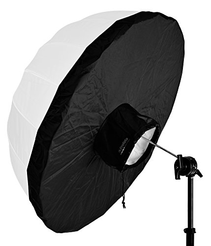Profoto 34'' Small Umbrella Backpanel, Fits 33'' Small Translucent Umbrellas, White Inside, Black Outside by Profoto