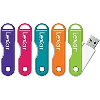 Lexar(R) JumpDrive(R) TwistTurn USB 2.0 Flash Drive, 64GB, Assorted Colors