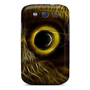 Galaxy S3 FPpSkef877iQccO Butterfly Eye Tpu Silicone Gel Case Cover. Fits Galaxy S3
