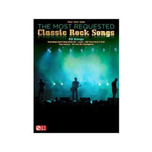 Hal Leonard The Most Requested Classic Rock Songs (P/V/G) (All Of Me Piano Sheet Music With Letters)