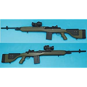 G&P Laser Product M14 DMR SOCOM(Foliage Green)