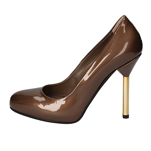 de de vestir para charol ALBANO Zapatos mujer marrón w4qt5c6c