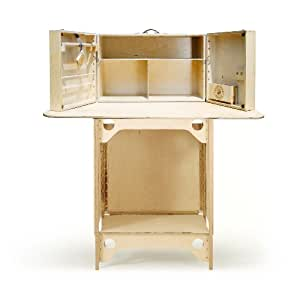My Camp Kitchen MCK-ST-1 Summit Cabinet Countertop and Stand Portable Baltic Birch