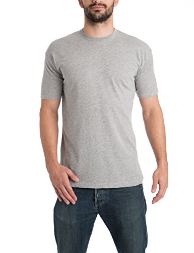schwarz anthrazit Con rot Rotondo weiß Pacco East grau Scollo Da Basic 5 T Uomo shirts Lower Multicolore ZO4anf