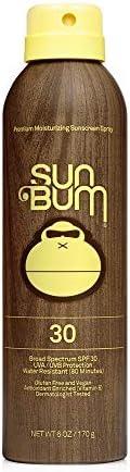 Sun Bum Original SPF 30 Sunscreen Spray I Vegan and Reef Friendly (Octinoxate & Oxybenzone Free) Broad Spe