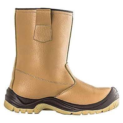 Rigman Safety Shoes Model 329t, Men - Brown