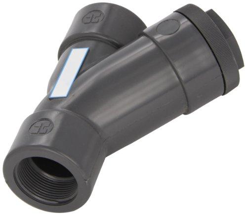 Hayward PVC Y-Strainer, FPM Seal, 1-1/2'' Threaded by Hayward Flow Control