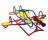 Airplane Teeter Totter | Ace Flyer | Red, Yellow, Blue Primary Colors