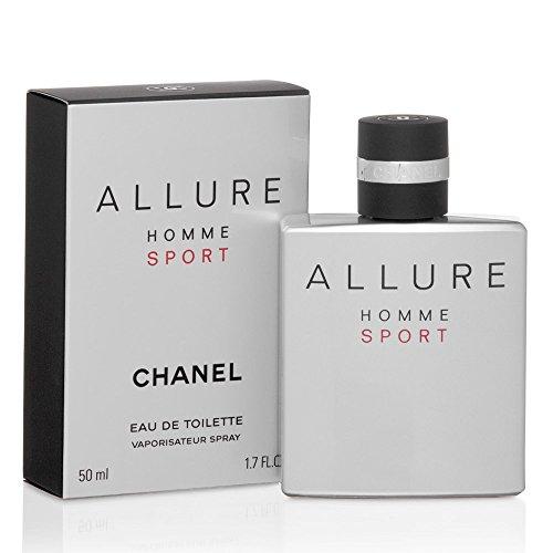 C H A N E L ALLURE HOMME SPORT EDT Spray 1.7 OZ./50 ml -