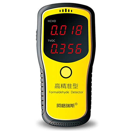 Professional Portable Formaldehyde Detector, Indoor Air Quality Tester with LCD Display for Home Use by OLSUS (Image #1)