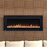 electric slimline fireplaces - Napoleon NEFL42FH Allure Series Linear Slimline Wall Mount/Built-In Electric Fireplace, 42 Inch