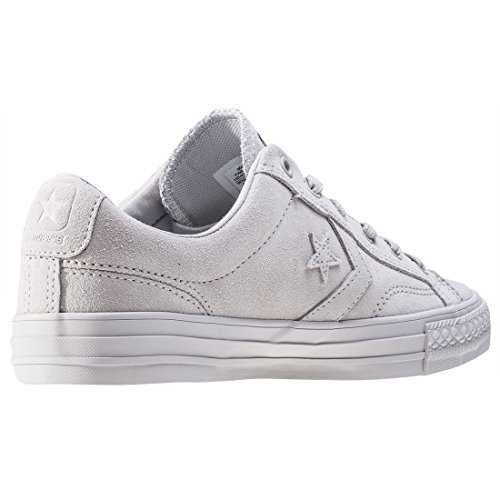 Star Converse Blanc Blanc Player Blanc Suede Mouse Sneakers aBdBqw