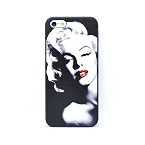 Hestech(TM) Attractive Monroe Pattern Snap On Hard For Case For Sam Sung Galaxy S4 Mini Cover