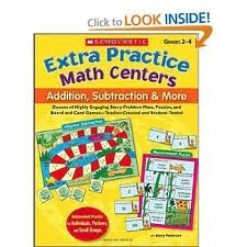 Extra Practice Math Centers (Extra Practice Math Centers)