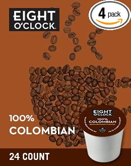 Eight O'Clock Coffee 100% Colombian K-Cups (96 count