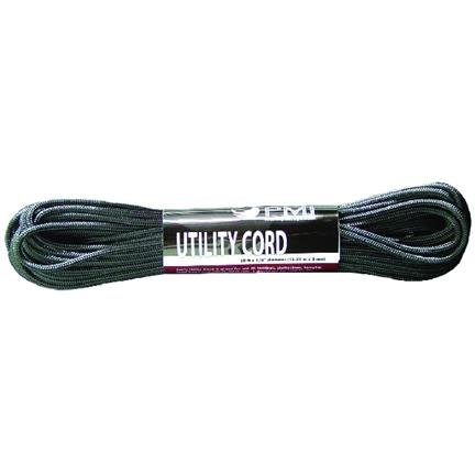 PMI Utility Cord 3MM Black 15M by PMI